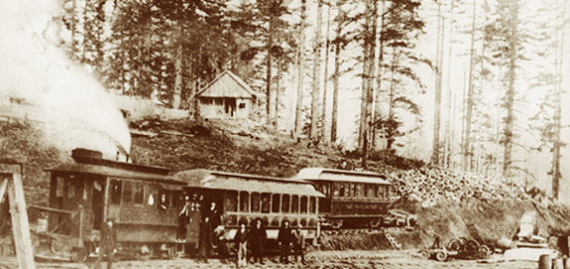 City and West Portland Park Railway, ca. 1893.