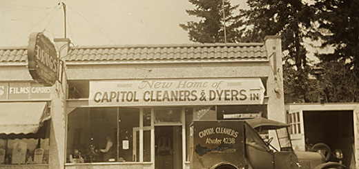 Capitol Cleaners and Dyers ca. 1928.