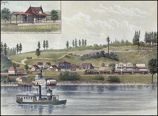 Fulton park, ca. 1890.