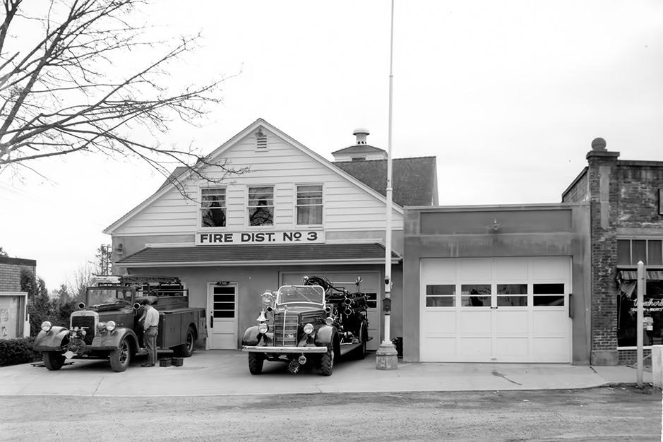 Multnomah Fires Station ca. 1950
