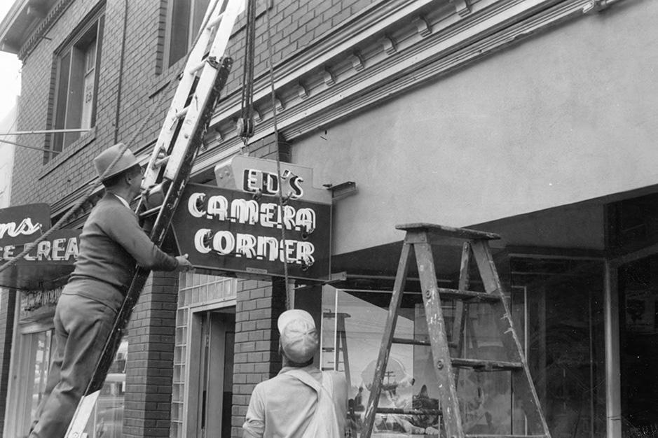 Ed's Camera Corner ca. 1950