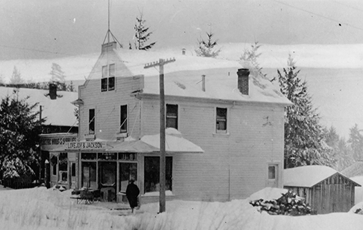 Lovejoy and Jackson Store, ca. 1916.