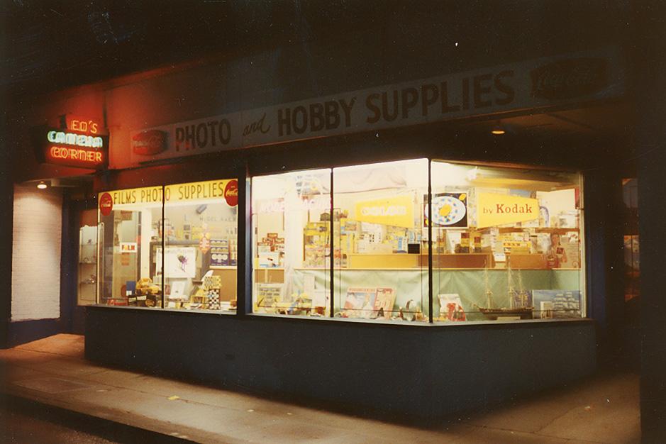 Ed's Camera Corner ca. 1960