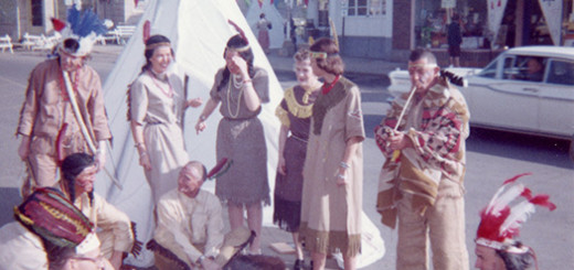 Multnomah Merchants Celebrate Chief Multnomah Days, ca. 1958.