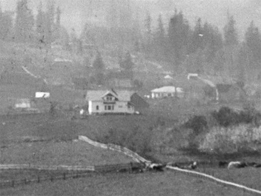 Enlargement - View of Tualatin Valley North of Multnomah