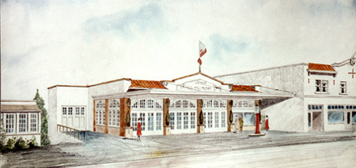 Ross Motor Company, Artist's Conception, ca. 1928.