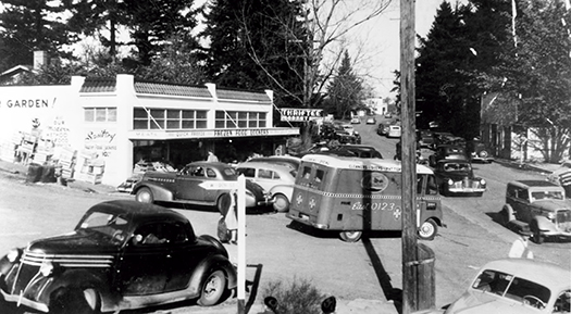 William Durst's Thriftee Market ca. 1950.