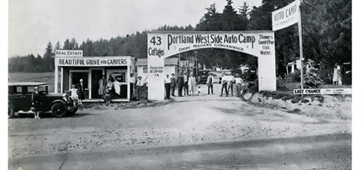 Portland West Side Auto Camp, ca. 1930.