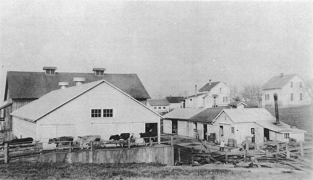 Multnomah Dairy Farm, ca. 1928