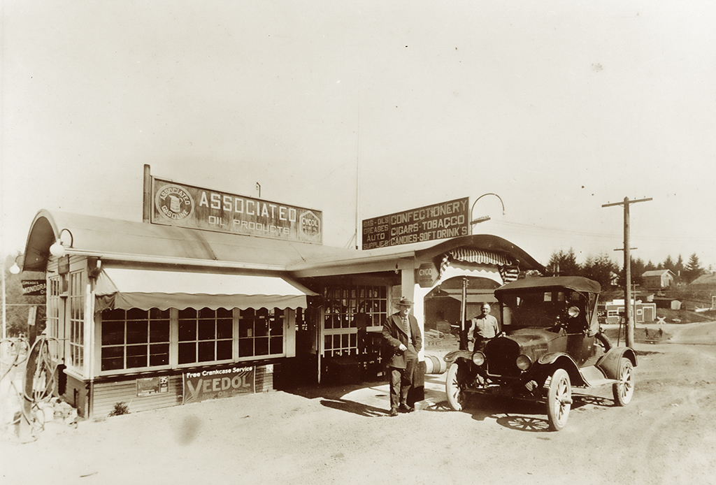 Ghormleys Service Station