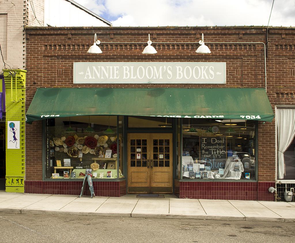 Annie Bloom's Books, July 2, 2014.