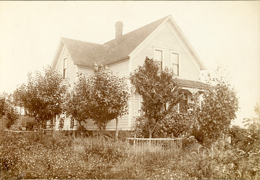 Fulton Park Dairy (Raz/Wardin) House, 1903.