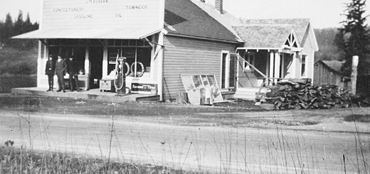 Fairvale Grocery, ca. 1921.