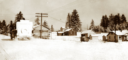 Capitol Highway, January 1929. Photo courtesy Jean Mangrum.