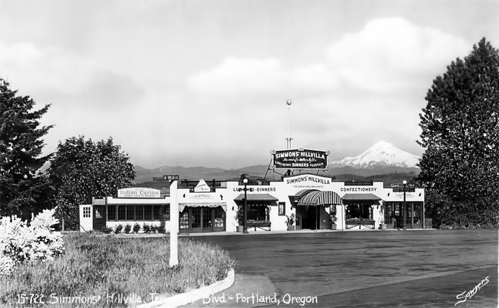 HIllvilla, ca. 1940.