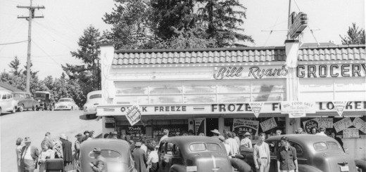Bill Ryan's Grocery, ca. 1955.