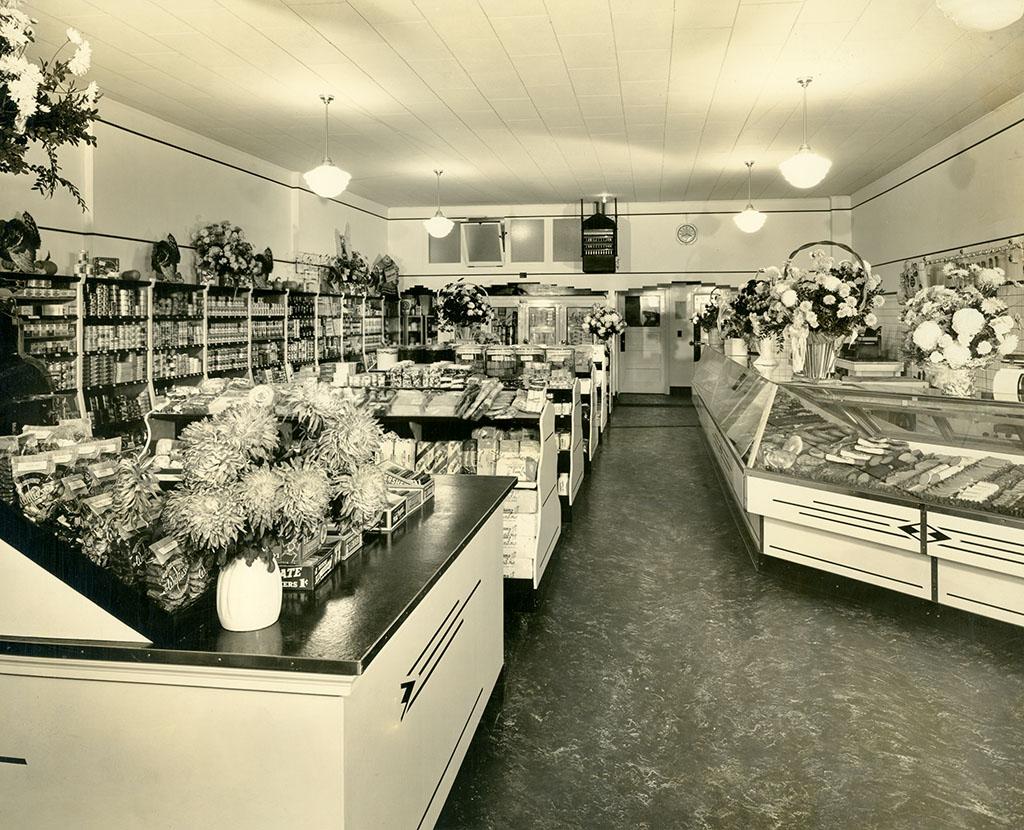 John's Market Interior, 1939.