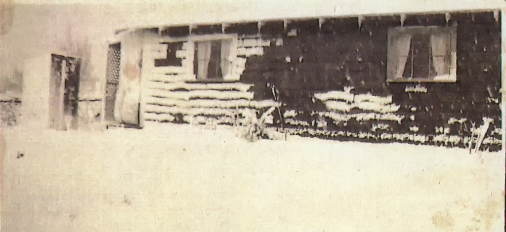 Snow Covered House in Multnomah, Oregon, ca. 1920.