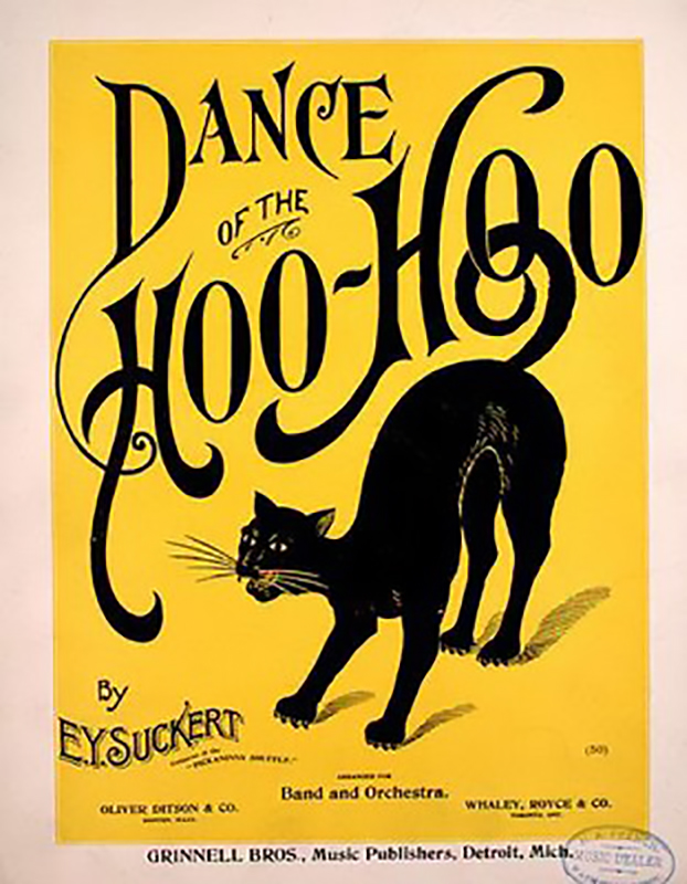 Dance of the Hoo Hoo by Emma Suckert (1898, Ragtime piano)