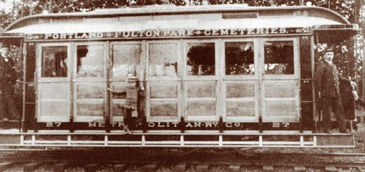 Metropolitan Railway Convertible Trolley, ca. 1891.