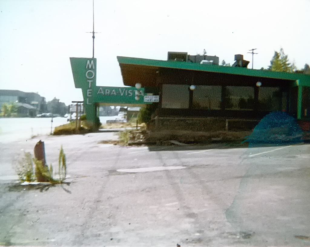 Ara Vista Motel, Vacant, ca. 1980.