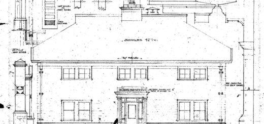 Maplewood School Blueprints - 1912